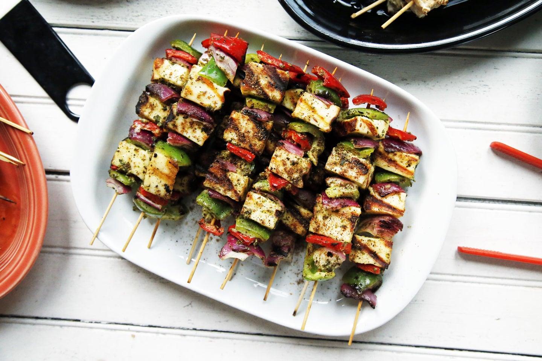 Paneer Tikka Kebabs