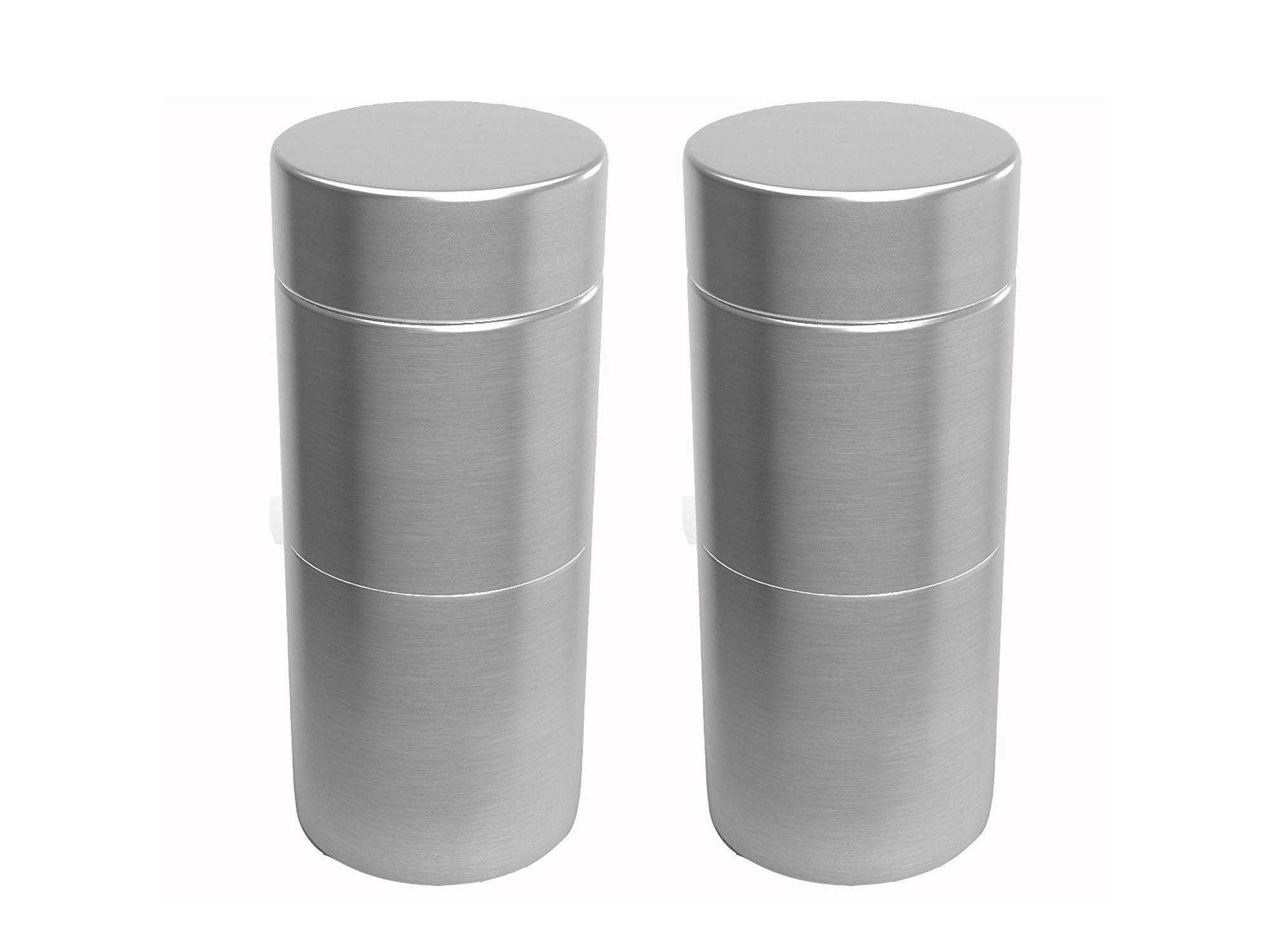 Herb Stash Jars Aluminum Airtight Smell Proof Containers