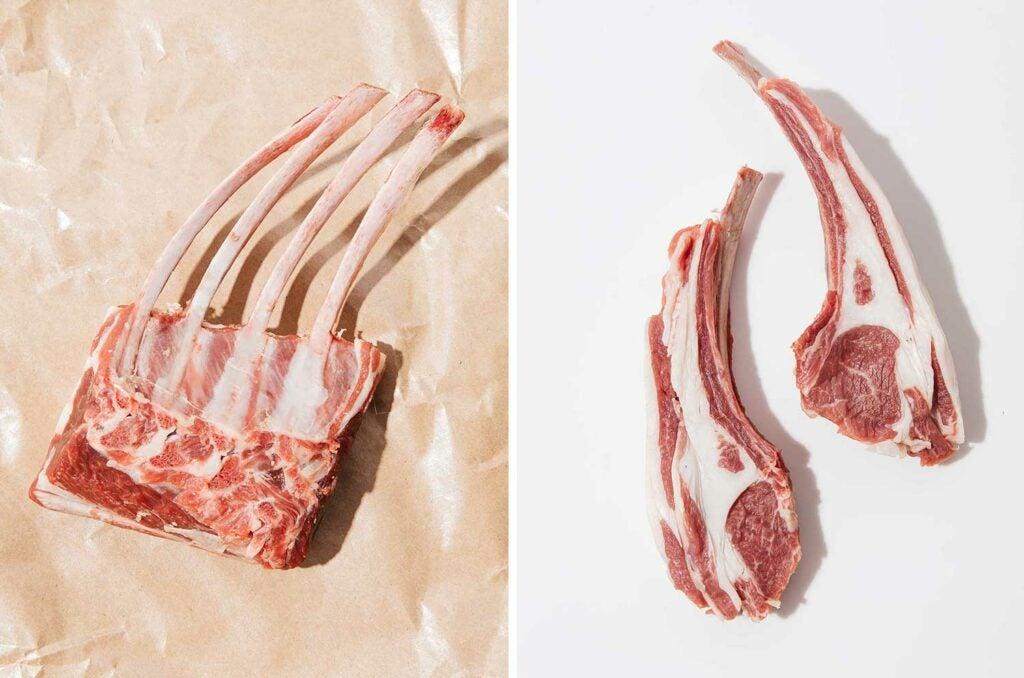 classic lamb rib chops