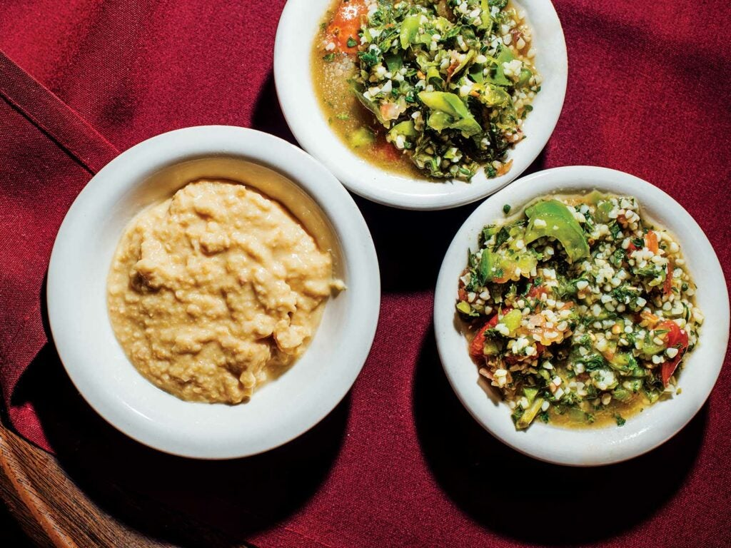 Unconventional steakhouse sides are ready to be run out.