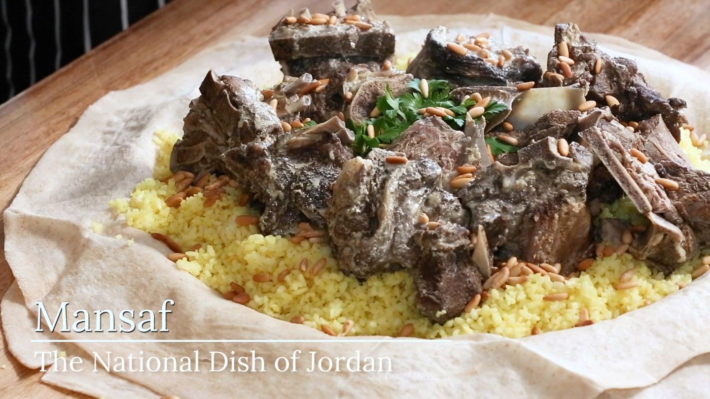 Mansaf (Jordan's National Dish)