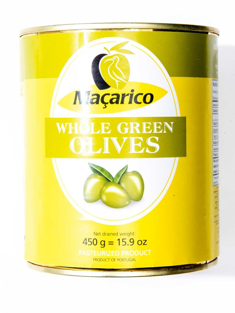 Maçarico Whole Green Olives