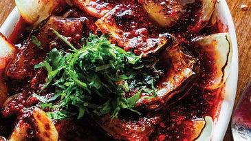Grilled Onion Salad Recipe