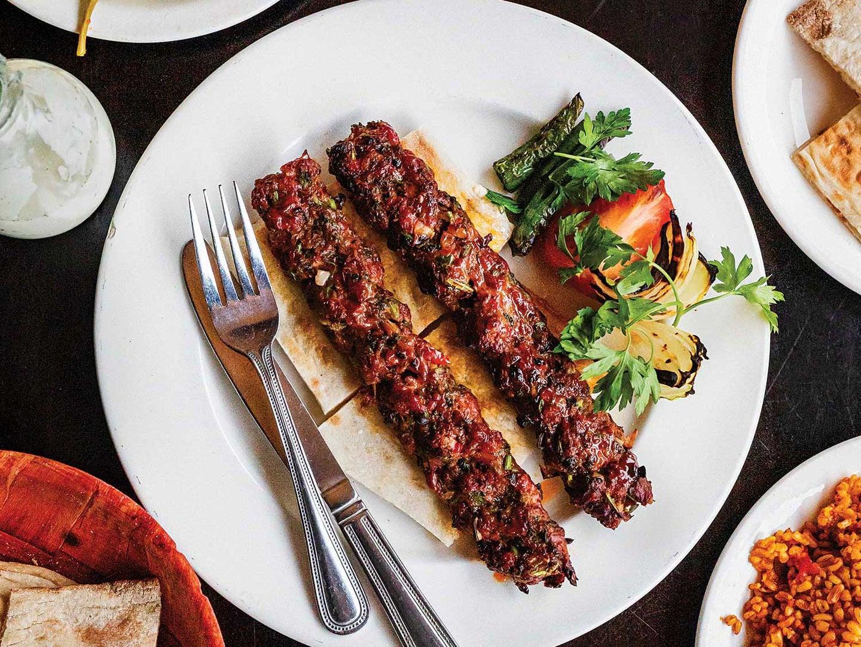 Turkish Lamb Kebabs