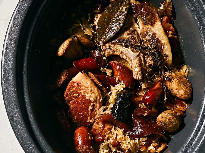 Slow-Cooker Choucroute Garnie