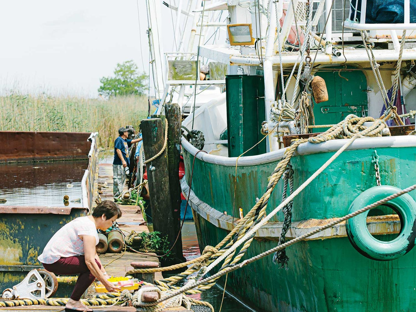How Louisiana's Vietnamese Shrimpers Are Adapting to Climate Change