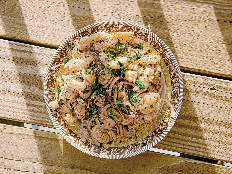 Vietnamese Herb-Wrapped Shrimp