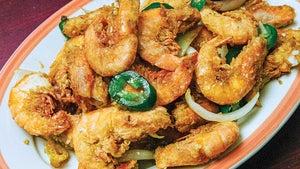 Salted Fried Shrimp