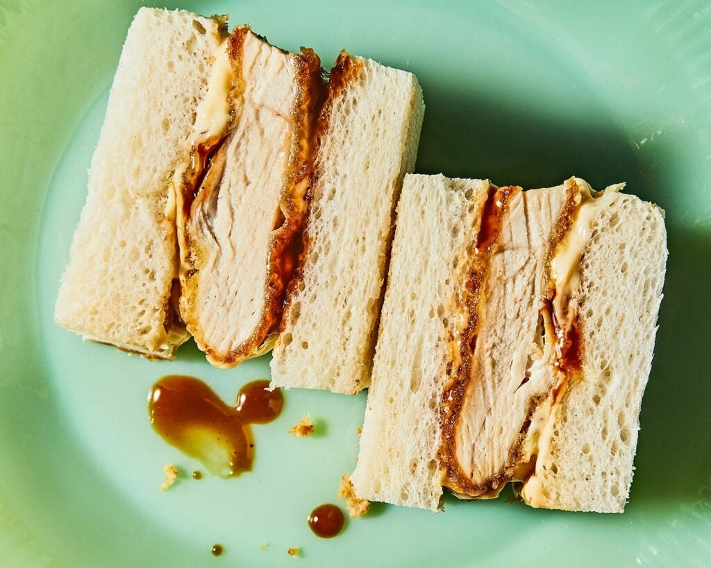 Chicken Katsu Sandwiches