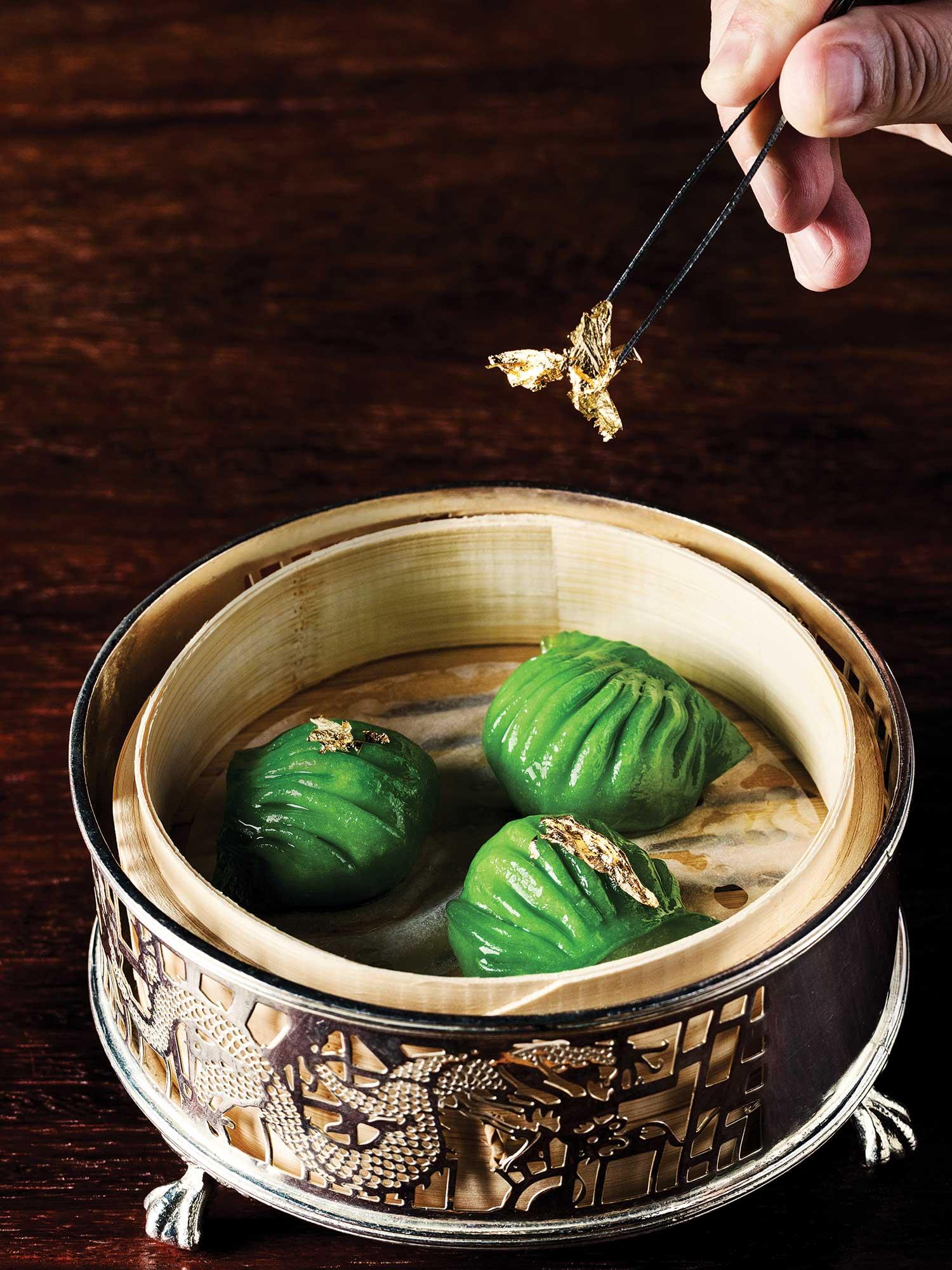 Dumplings from Jade Dragon.