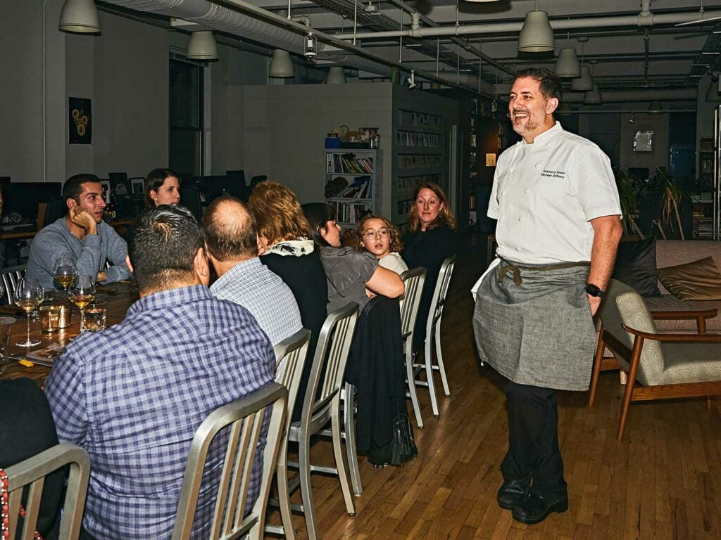 Chef Michael Anthony at the Gramercy Tavern.