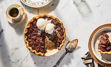 The Perfect Pecan Pie Is Spiked with Bourbon and Chocolate
