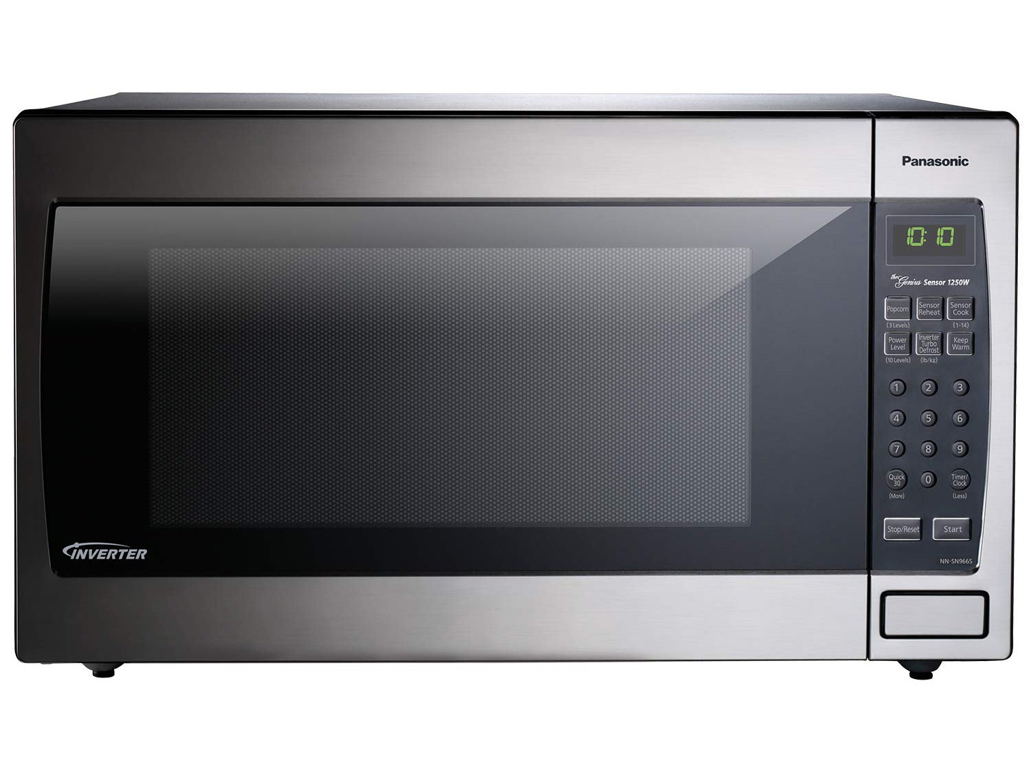 Panasonic Microwave Oven Stainless Steel Countertop/Built-In with Inverter Technology and Genius Sensor, 2.2 Cubic Foot