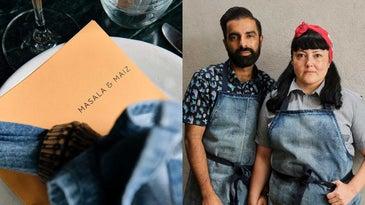Masala y Maiz owners Saqib Keval and Norma Listman