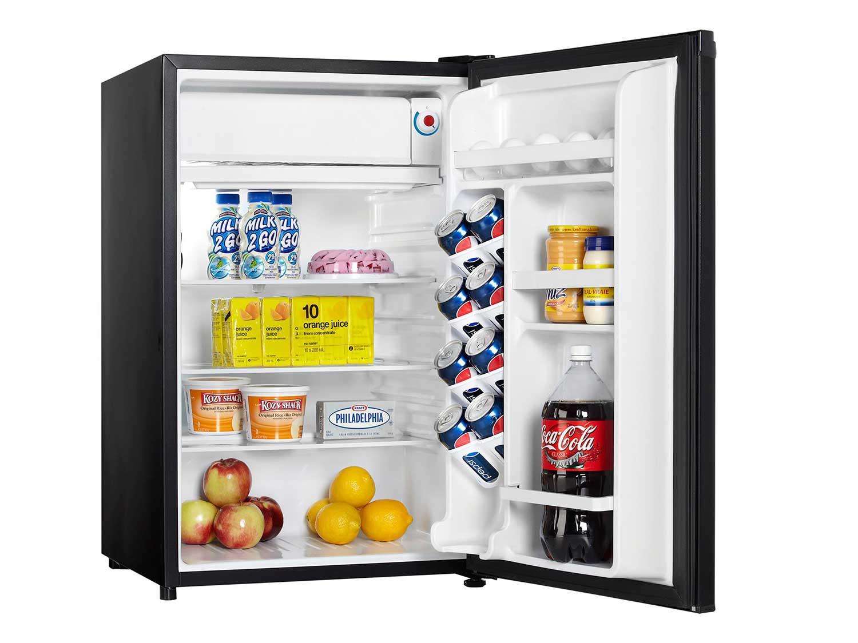 Danby Designer Compact Refrigerator, 4.4-Cubic Feet, Black