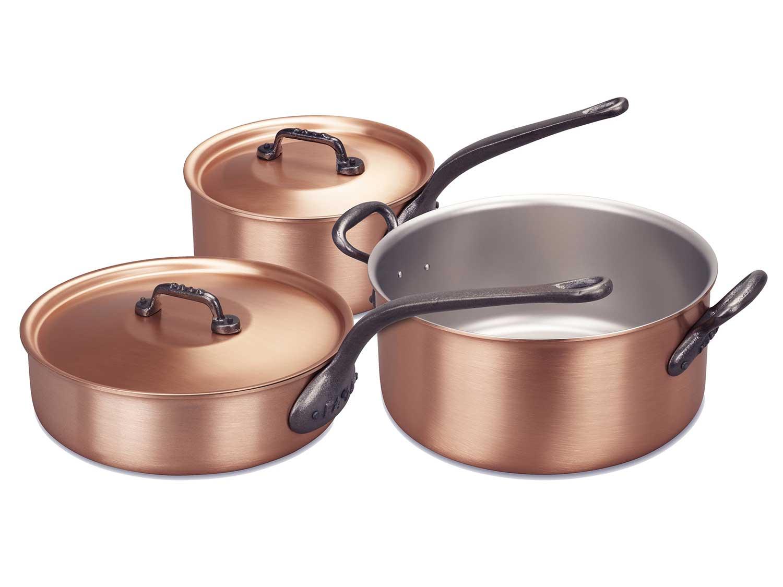 Falk Copper Core Sautée Pans