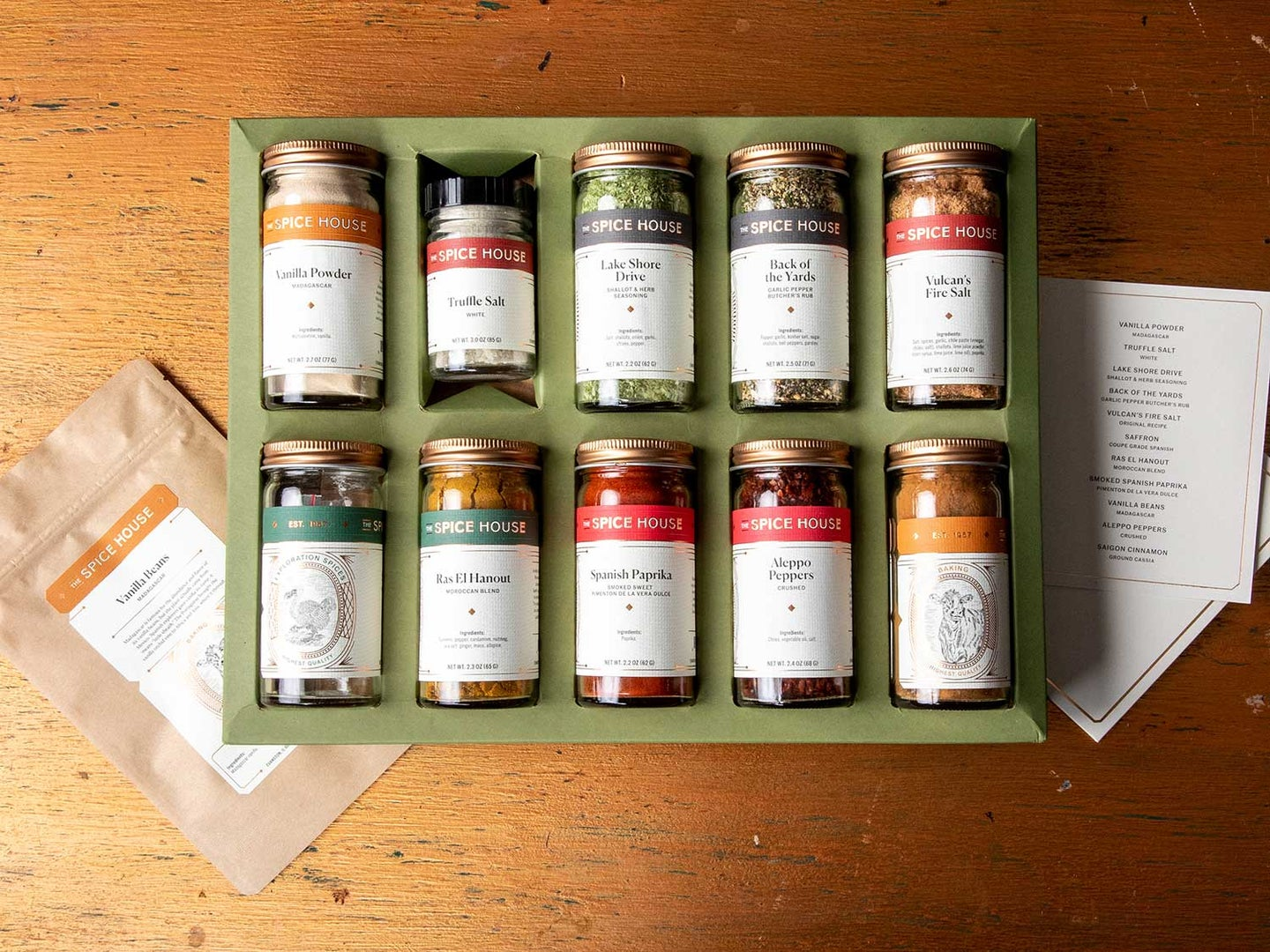 The Spice House Spice Trader Gift Set