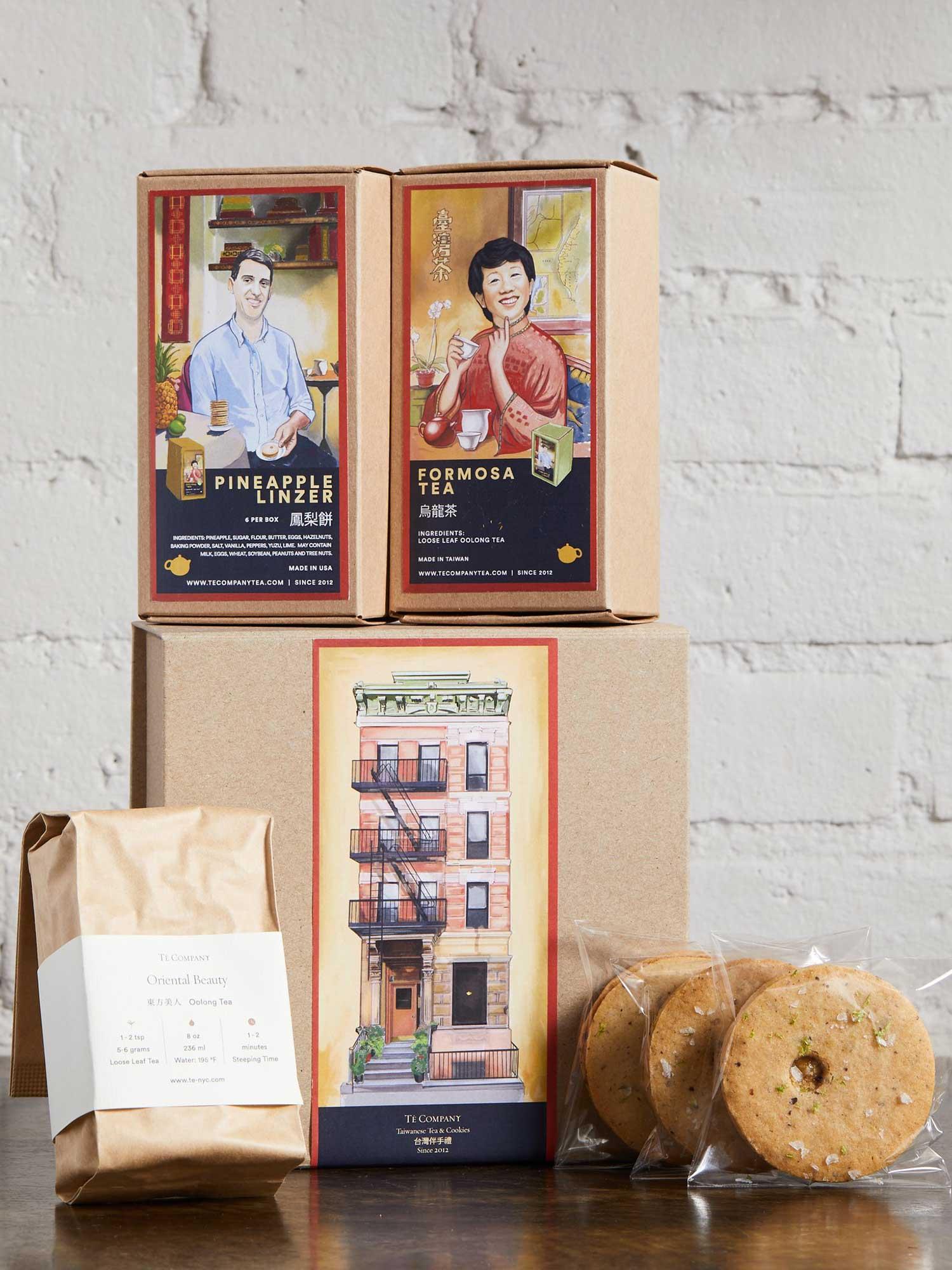 Té Company Tea and Cookie Set