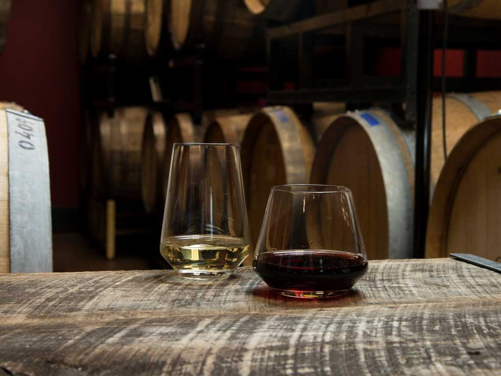 Schott Zwiesel Tritan 16 Ounce Crystal Stemless Burgundy Red Wine Glass (set of 6)