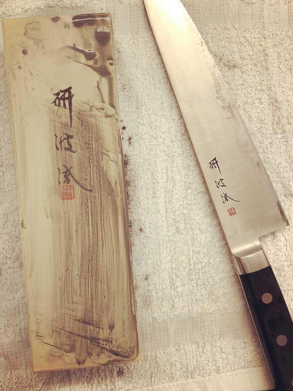 Togiharu two-sided sharpening stone