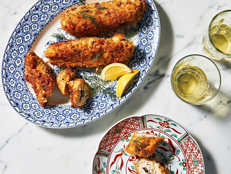 Get the recipe for Chicken Kiev »