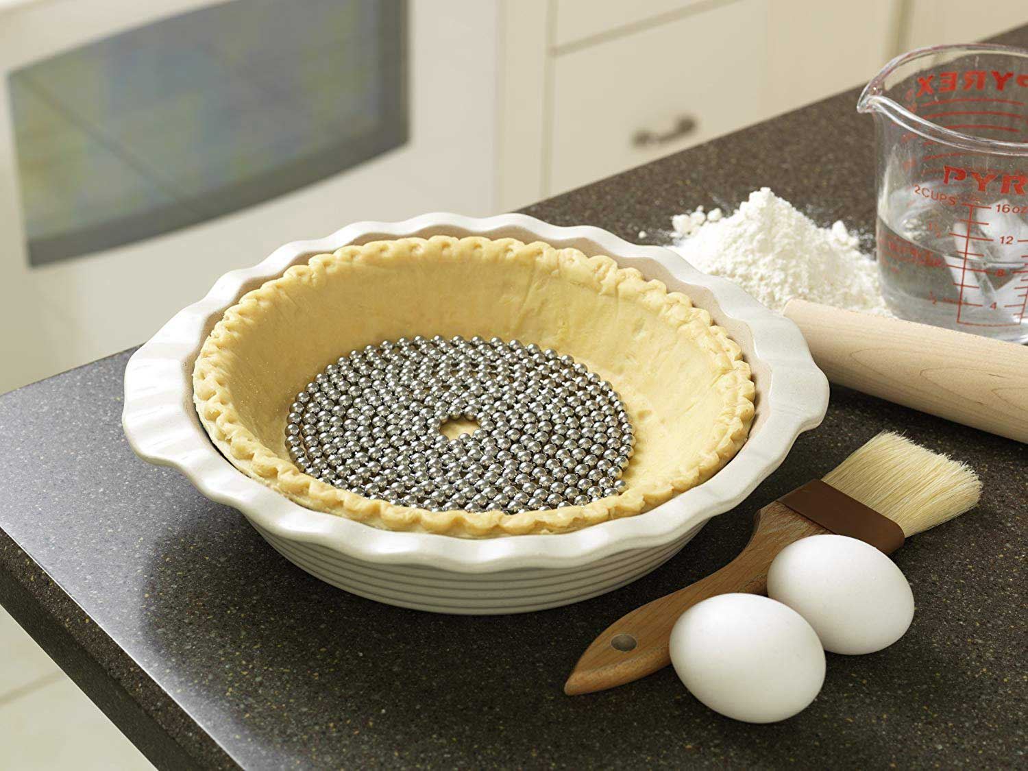 Jaz Innovations Perfect Pie Crust Stainless Steel Weight Chain