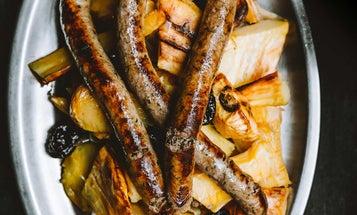 Wild Boar Sausage with Parsnip