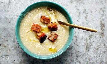 Celeriac and Truffle Soup