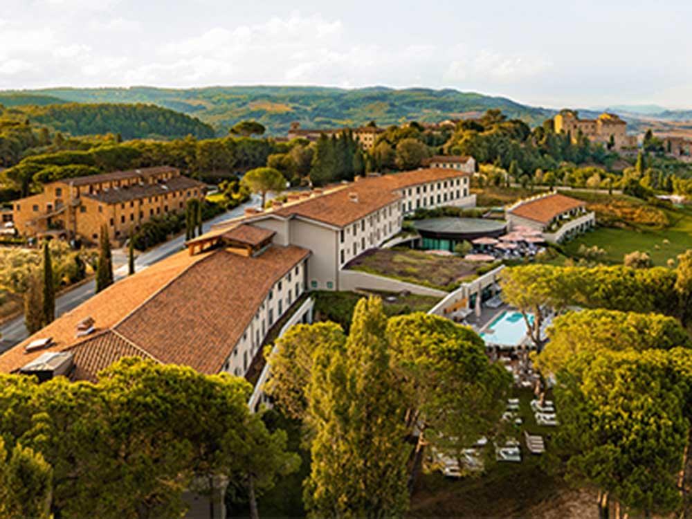 Il Castelfalfi in Montaione, Italy.