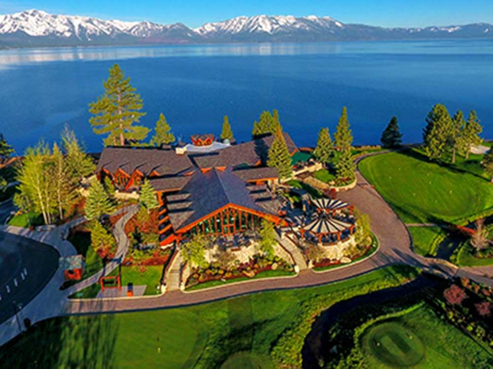 Edgewood Tahoe Resort in Stateline, Nevada, USA.