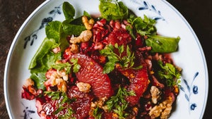 Cranberry and Grapefruit Salad
