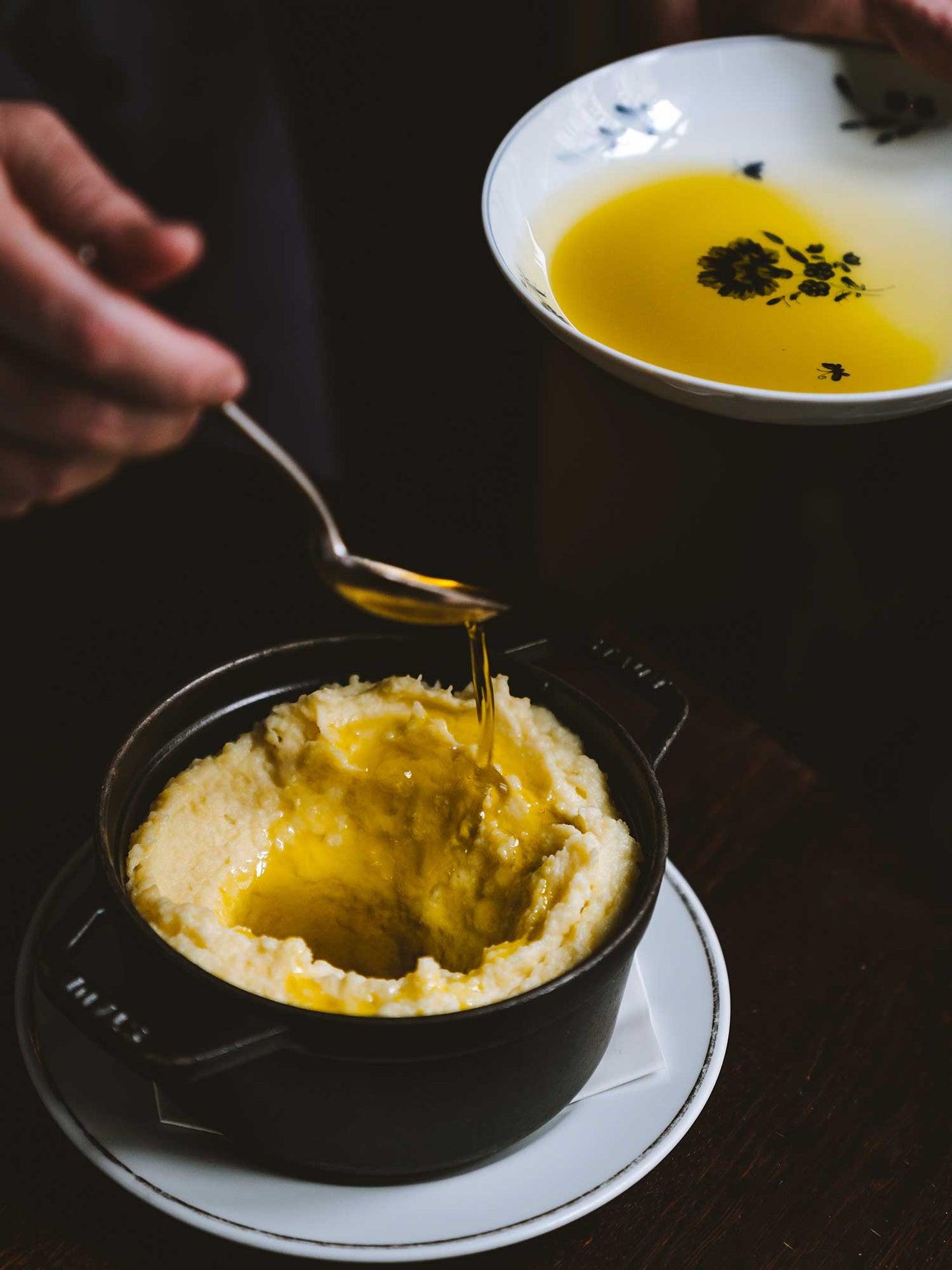 Mashed Potatoes with Provençal Olive Oil