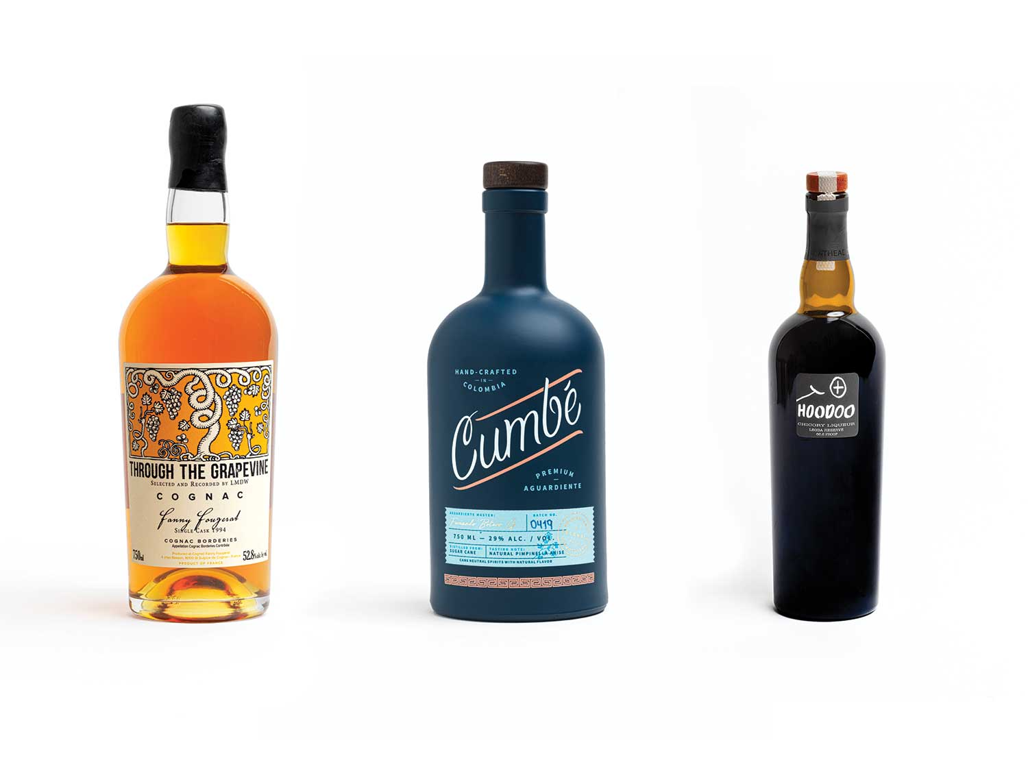These three bottles are our new favorite after dinner drinks