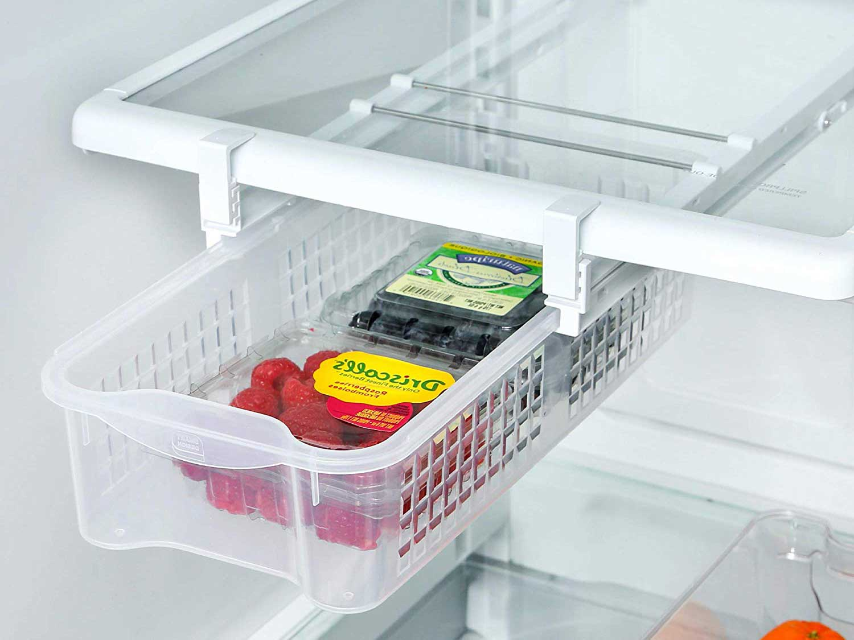 Smart Design Refrigerator Pull-Out Bin