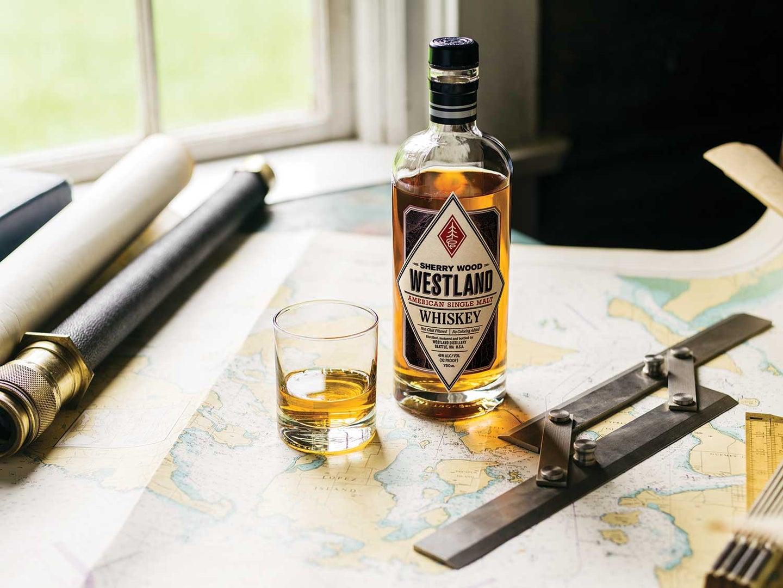 Westland's Seattle-made whiskey.