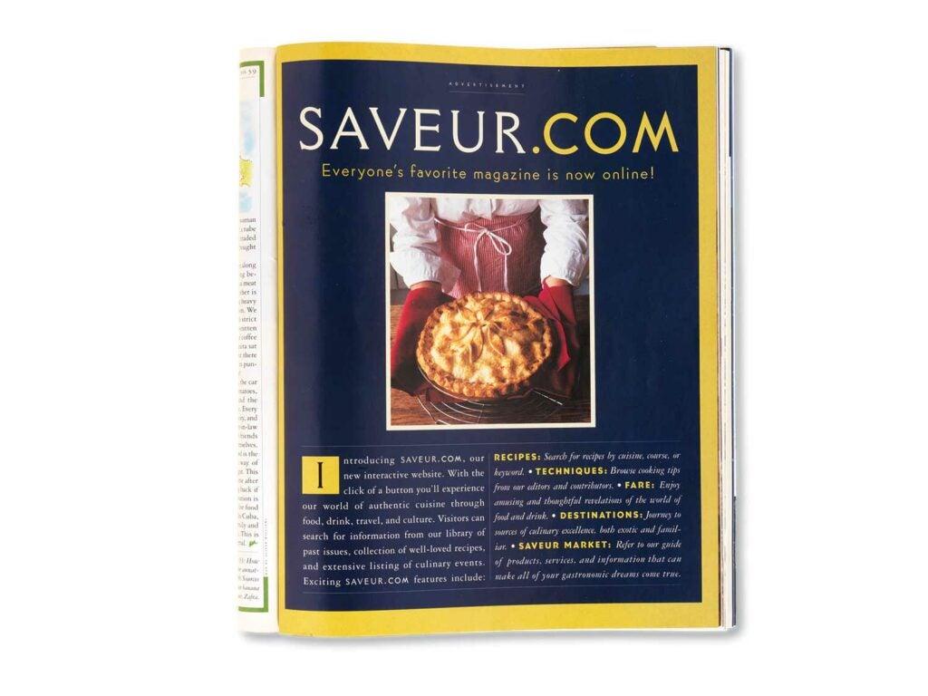 Saveur.com Release