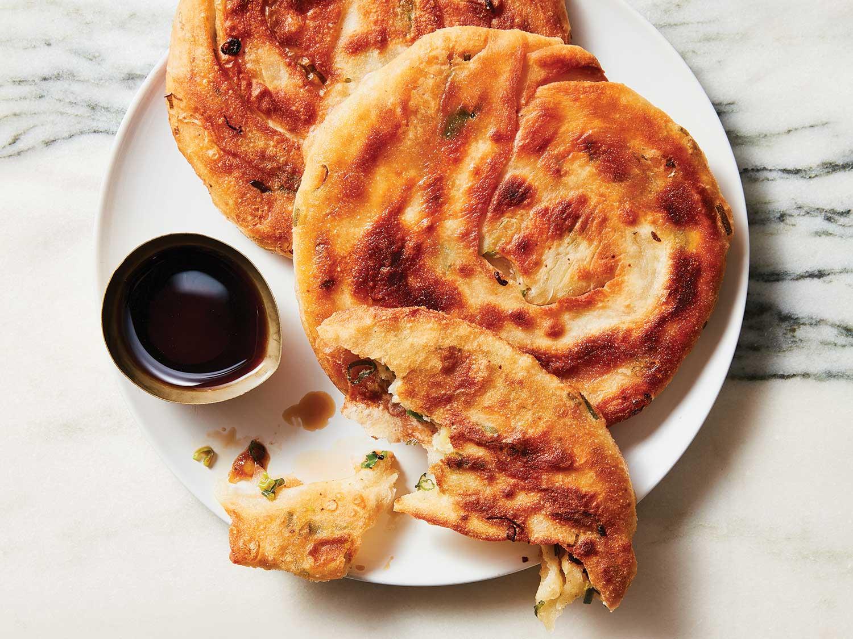 Martin Yan's Scallion Pancakes (Cong You Bing)