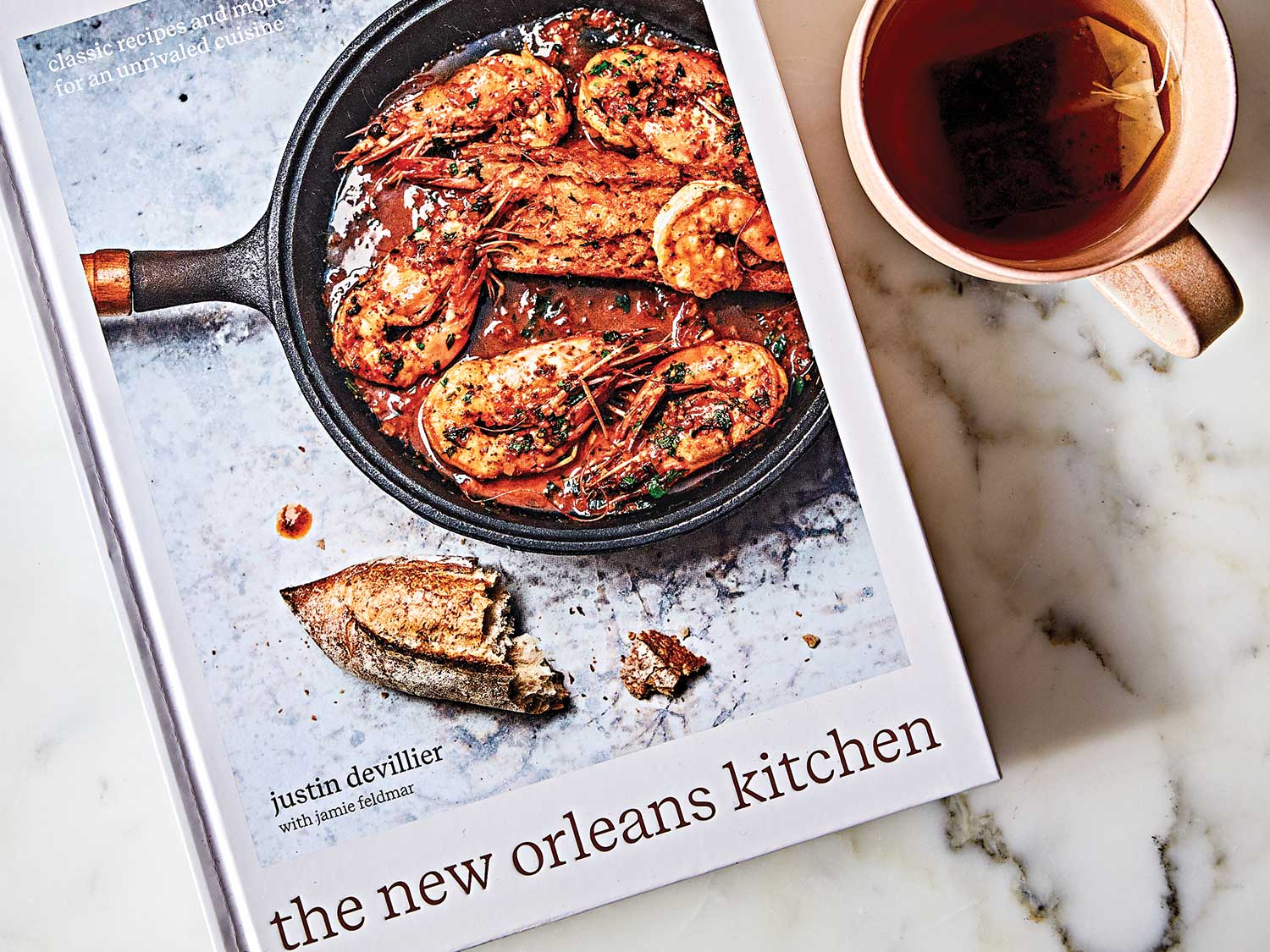 The New Orleans Kitchen by Justin Devillier with Jamie Feldmar.