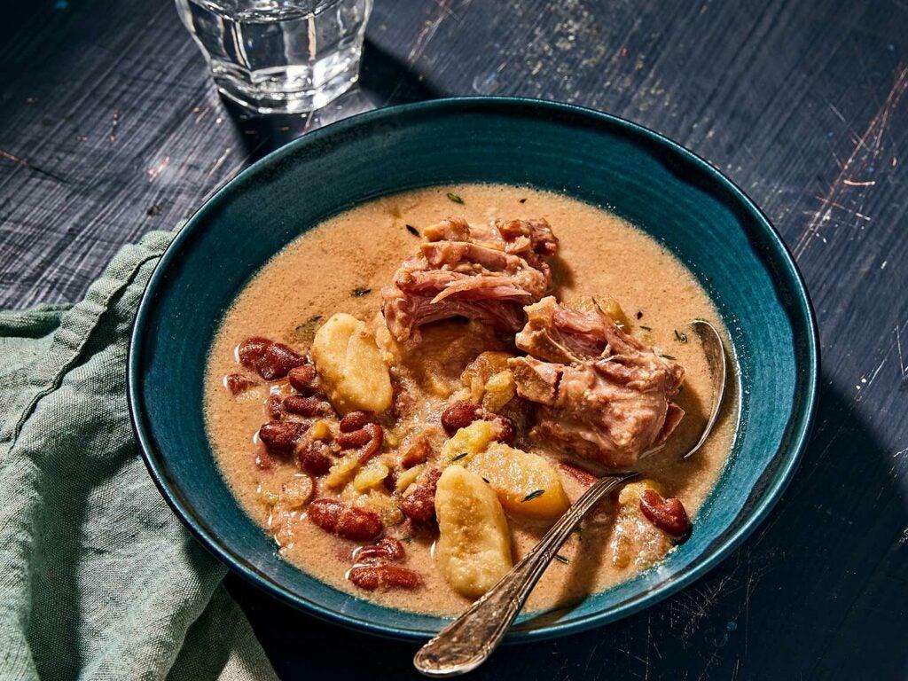 BVI-Style Peas Soup