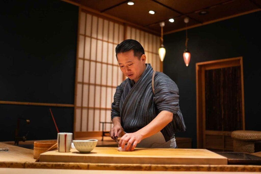 Fukuoka City, Sushi Restaurant Gyoten