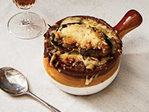 Normandy-Style French Onion Soup