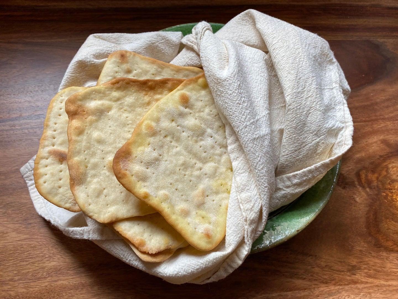Homemade Matzo