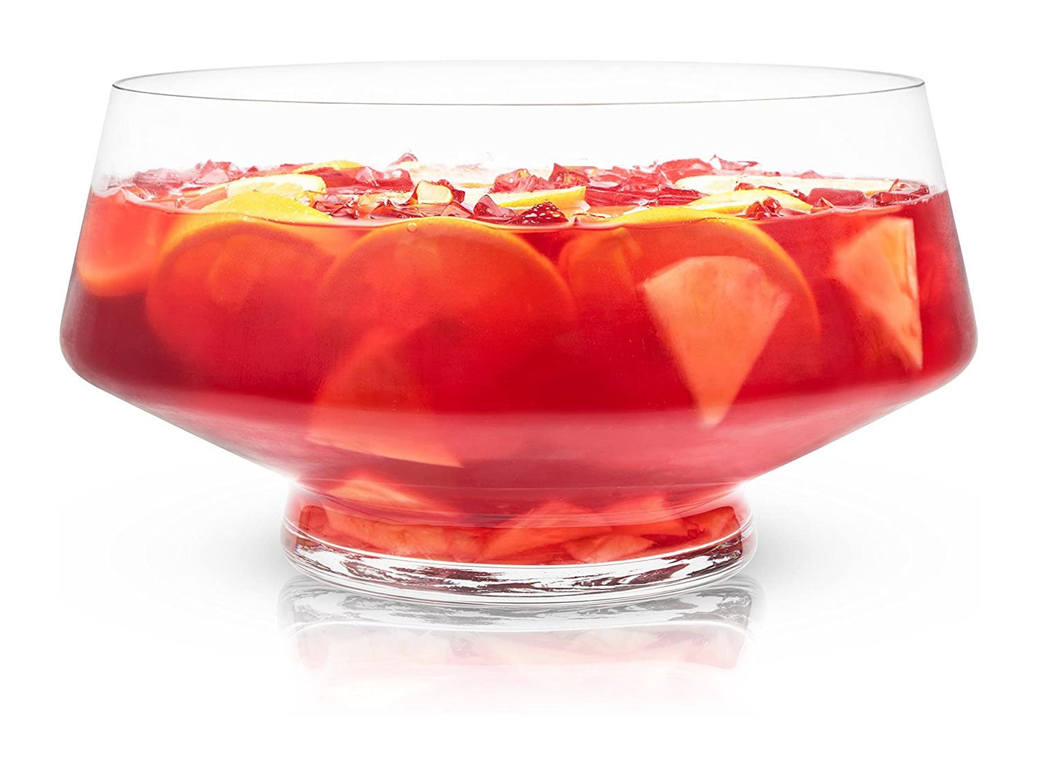 Viski Cocktail, Old Fashioned, Martini and Wine Footed Punch Bowl