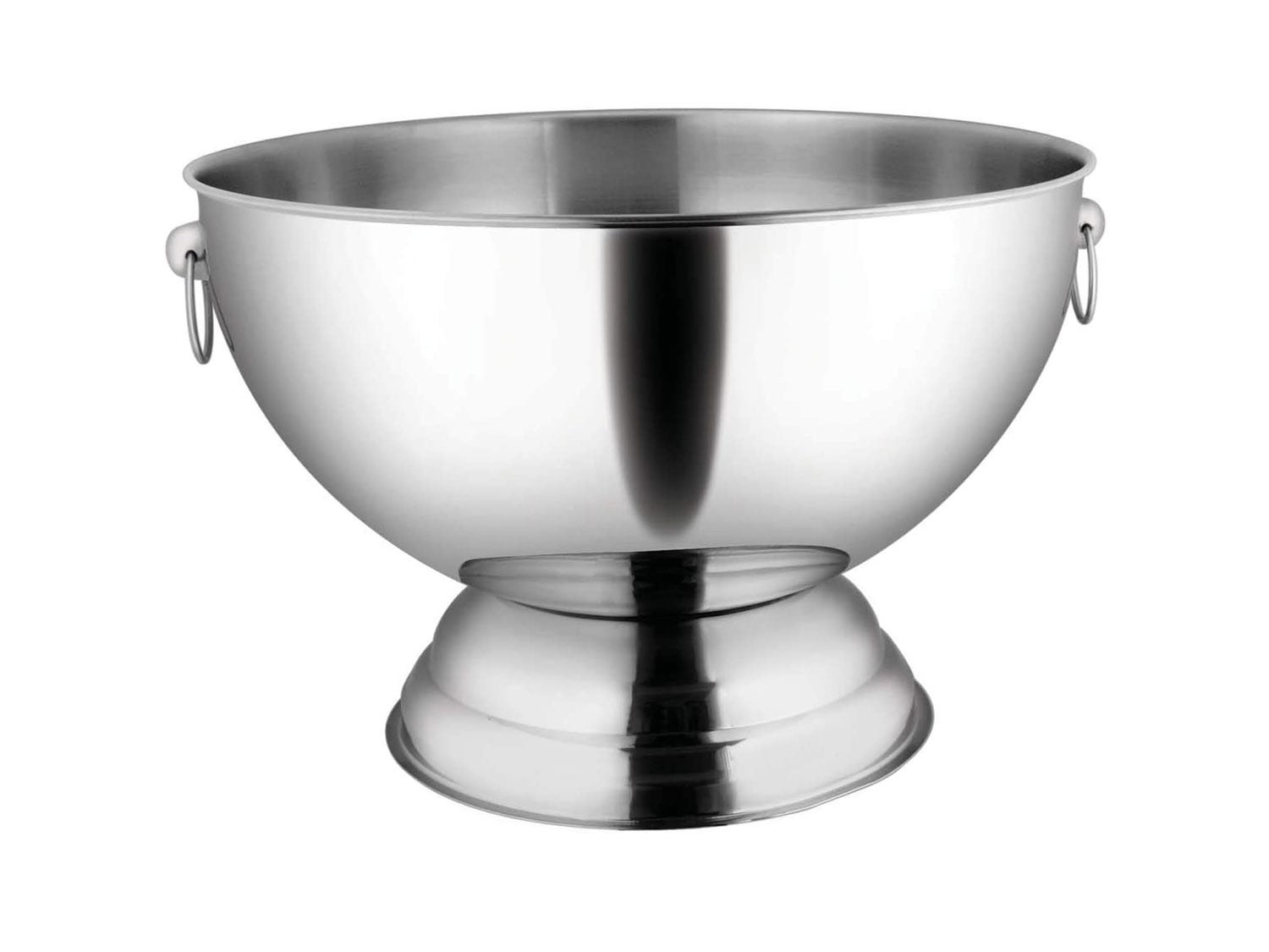 Winco Stainless Steel Punch Bowl with Handles
