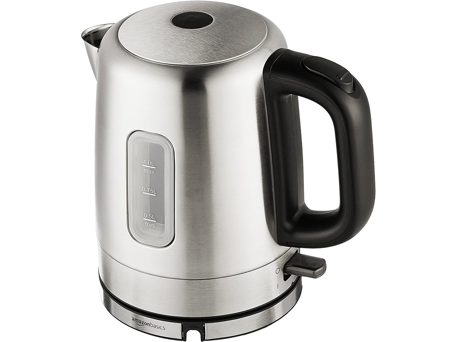 AmazonBasics Stainless Steel Portable Electric Hot Water Kettle