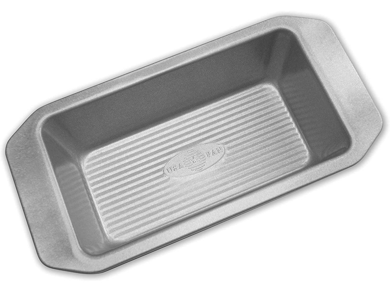 USA Pan 1140LF-3-ABC American Bakeware Classics 1-Pound Loaf Pan