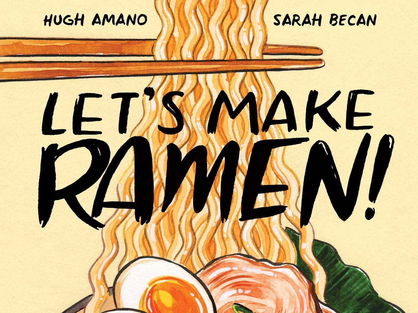 Hugh Amano and Sarah Becan's Let's Make Ramen! is a cookbook in comic book form—the perfect way to demystify everything from the history to the step-by-step preparation of authentic Japanese ramen.