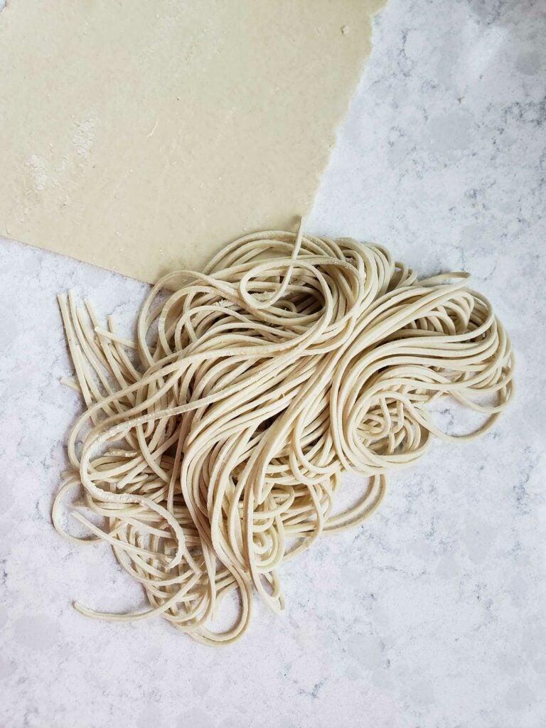 Handmade Ramen Noodles