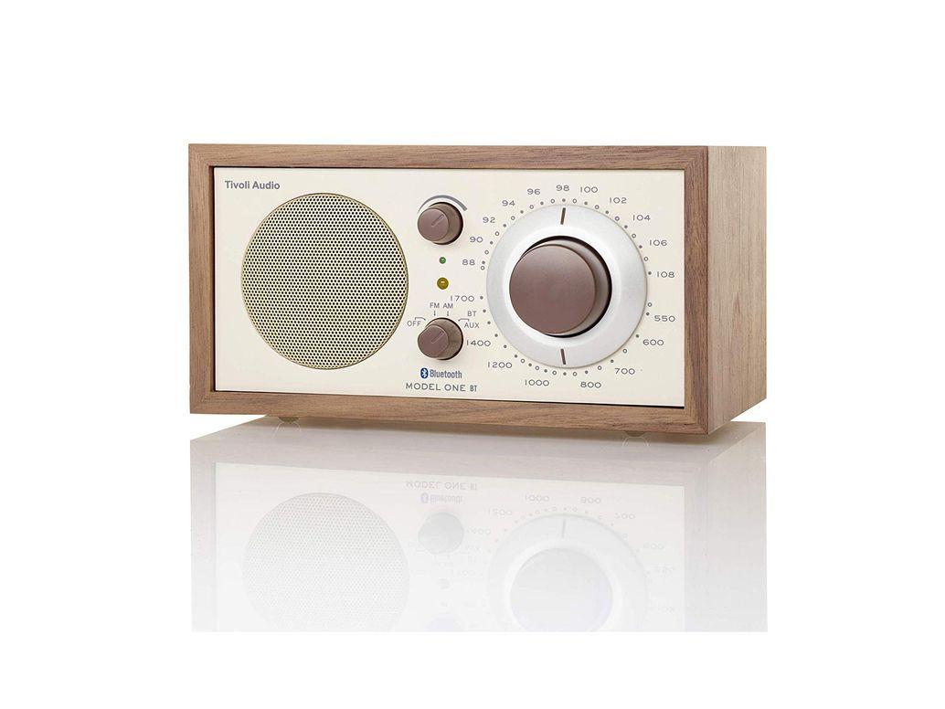 Tivoli Audio M1BTCLA Bluetooth AM/FM Radio (Walnut/Beige)