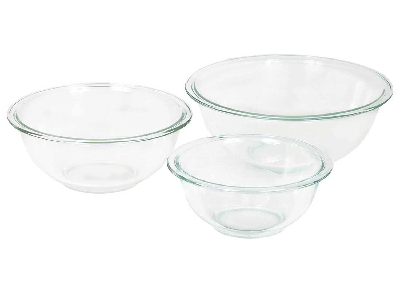 Pyrex Glass Mixing Bowl Set